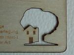 Holzvisitenkarten